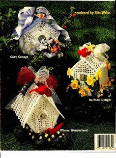 Thread Crochet Birdhouses - diamondinapril - Picasa-Webalben