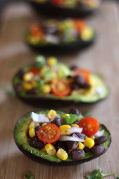 Avocado Salad Bowls.