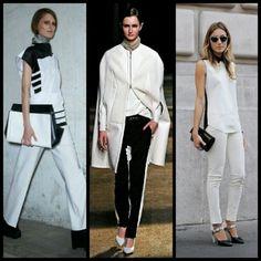 Black & white - Celine, Alexander Wang & street style