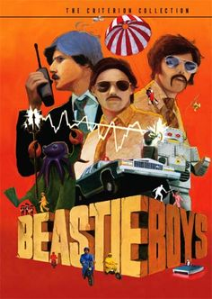 We spent Saturday afternoon watching all Beastie Boys videos on this DVD Collection I gave Leo year's ago.