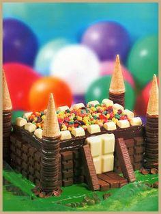 castillo de chocolate