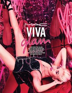 GIVEAWAY Preview, Photos: MAC Cosmetics Announces Miley Cyrus As 2015 Viva Glam Spokesperson, New Pink Lipstick, LipGlass Shades! | BeautyStat.com #bstat