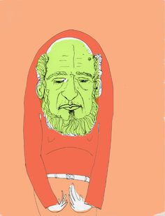 A Few Old Guy Drawings, by Dan Lucey, Senior Creative Director at BBDO.