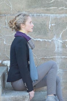 nellie wrap by barbara w. collins / quince and co tern