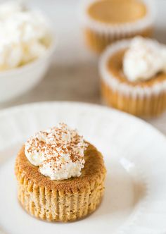 Mini Tiramisu Cheesecakes   Brown Eyed Baker