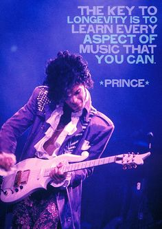 21 Powerful Quotes That Capture The Magic Of Music - Most if not all Prince FAMS should take this to heart...