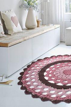 El blog de Dmc: Patrón alfombra ganchillo Natura XL