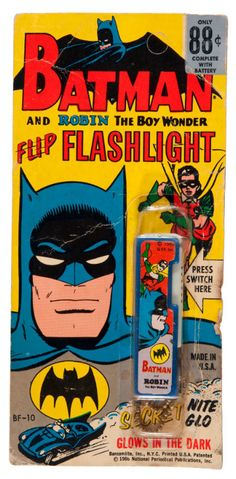 FLASHLIGHT ---> you know batman has one on his utility belt.  Extra set of batteries are a good idea too.