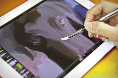 geek, product, sensu brush, gadget, art, ipad, paint brushes, paintings, stylus