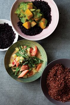 Spicy Vegan Green Curry with Butternut Squash