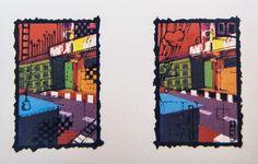Silk screen on paper