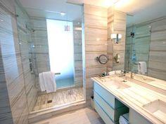 Bathroom at the W South Beach, Miami