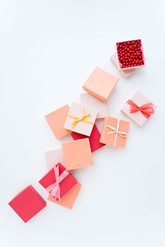 Oh Happy Day wrapping with cotton ribbon