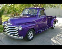 Purple truck ...