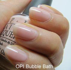 OPI Bubble Bath is a classic elegant pink colour