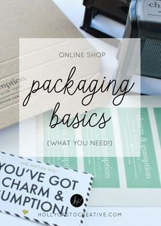 Online Shop Packagin