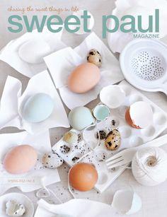 Sweet Paul magazine spring/2012 #craft #design #food #handmade #recipes #free
