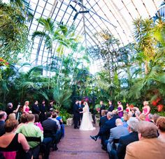 "Franklin Park Conservatory in Columbus, Ohio named one of the ""22 Of The Coolest Places To Get Married in America"" on Buzzfeed"