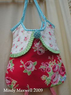 cute clothes pin bag