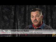 Chief Rubin on the Fire-Rescue Leadership Retreat