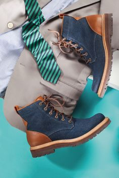 The UGG Huntley Boot for men #OneColorDay #Blue