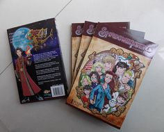 The+Volume+one+omnibus+comic+with+Shadowbinders+character+sketch+in+the+front+cover+(signed.)++Your+choice+of+character.