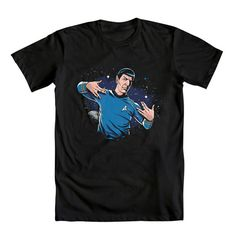 It's WE LOVE FINE WEDNESDAY… time to Live Long and Swagger!  Repin this post now and you're entered to WIN this fantastic Spock Star Trek tee! Winner will be drawn next week - good luck!  Repin and WIN!