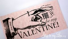 holiday, printable cards, valentine cards, free printabl, free valentin, valentin free, mustach valentin, mustach tattoo, diy valentin