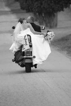 Great shot!!   Harley-Davidson of Long Branch  www.hdlongbranch.com  www.morningstarphotography.com   motorcycle bride