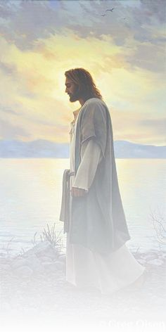 Christ. By Greg Olsen.