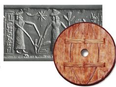 Historians believe that Sumerians invented the plow and wheel.