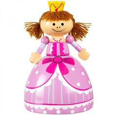 A great way to encourage little girls to save... this princess money box is simply adorable.