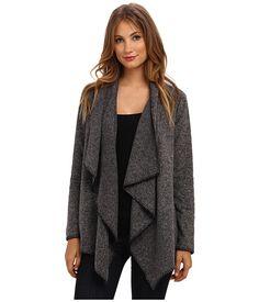 grey cozy sweater.