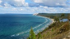 Sleeping Bear Dunes National Lakeshore- Michigan. Voted most beautiful place in America.