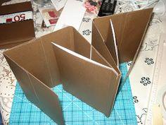 A Creative Operation: Triple Fold Never Ending Envelope Book Mini Album