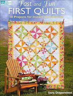 I love pinwheel quilts