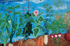 Garden Mural captured by UGArdener, via Flickr