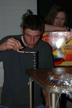 Minute-To-Win-It Christmas Party - nut cracker, Christmas style - for the older kids