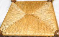 Rush seat weaving diy