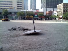 """Category: FUNNY """"Meter All Alone"""" by Felix Riverea, City of Tampa Parking Division"""