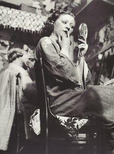 back stage at the Folies-Bergère, Paris, 1930