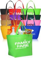 These are perfect for anything from corpoate promos to event favors, low as $0.81 each! http://www.discountmugs.com/nc/tote-bags/3874/non-woven-budget-shopper-tote-bag.htm