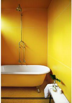 golden interior
