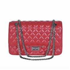 Beso Leather Double Flap Purse - Red