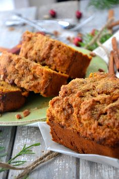 cinnamon sweet potato loaf (gluten free) from The Healthy Apple