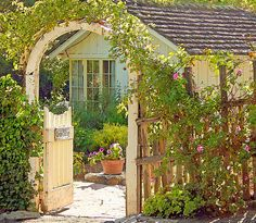 love english gardens and cottages....working towards making my home this way :)
