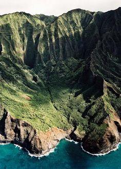 Na'Pali coast, Hawaii.
