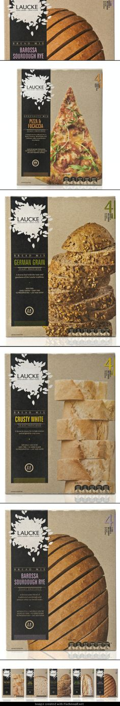 I liked this #bread so much I went back and got all the rest of the #packaging PD - created via http://www.thedieline.com/blog/2011/11/21/laucke.html