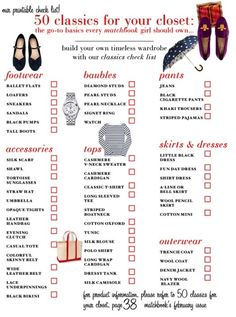 wardrobe basics for women | Wardrobe: Women's Basic Essentials | securitypleeze.com