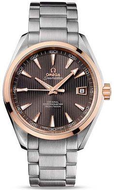 Omega Aqua Terra Teak Grey Dial Steel... for only $7,515.00